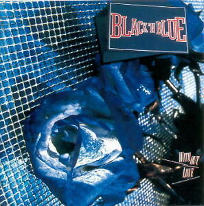 Black-039-N-Blue-Without-Love-CD-2003-Remastered-Reissue-KISS-Tommy-Thayer