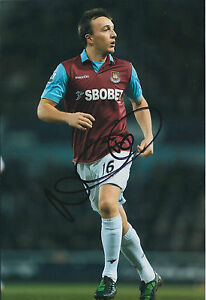 Mark-NOBLE-SIGNED-COA-Autograph-12x8-Photo-AFTAL-West-Ham-UNITED-HAMMERS