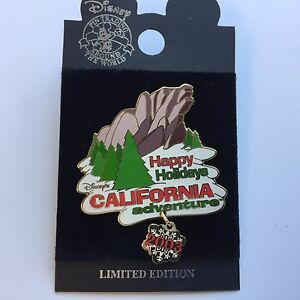 DCA-Disney-039-s-California-Adventure-Holiday-2003-Disney-Pin-26857