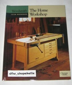 Details About Woodsmith Magazine Custom Woodworking Hc Book The Home Workshop Spiral Bound New