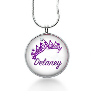 Personalized-Name-Necklace-Princess-Crow-Custom-Name-Necklace-for-girls-kids