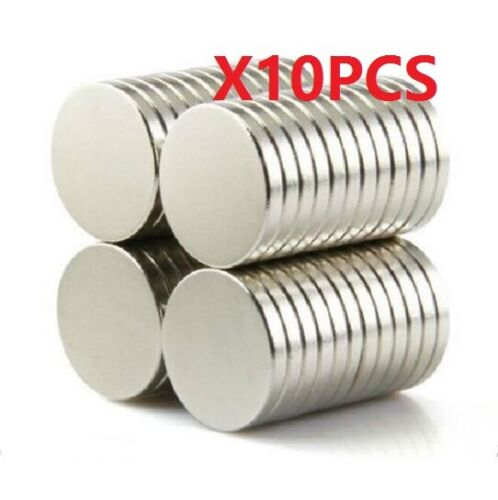 10X Strong N50 Neodymium Magnets Rare-Earth Round Disc Fridge Craft 15x2mm
