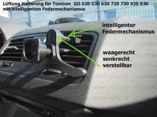 #294 adecuado TomTom 520 530 630 720 730 920 ventilación de Haicom mecanismo con resorte