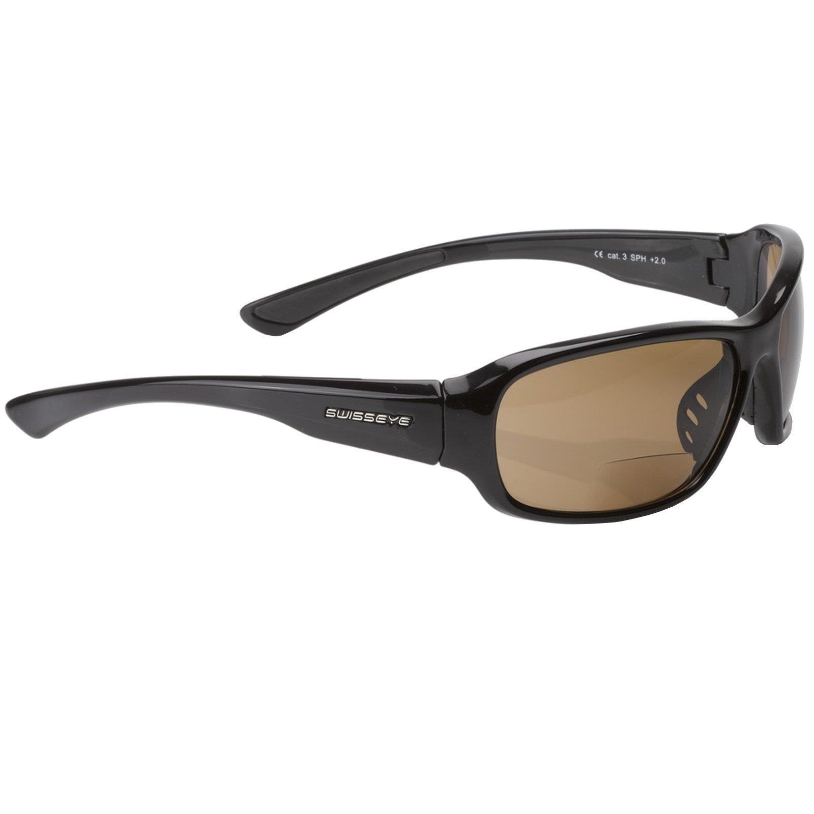 Swisseye Freeride Bifocal Fahrrad Sport Brille 2,0 dpt Lesehilfe Sonnenbrille