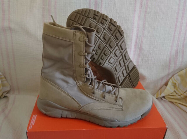 watch a485b e794f Nike SFB Special Field Boots Military British Khaki Desert 329798 221 Size  15