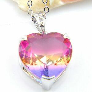 handgemachte-Herz-Regenbogen-Farbe-Turmalin-Edelstein-Halskette-Anhaenger-Si-B5L7