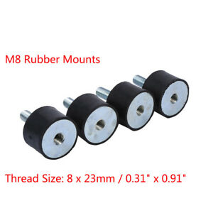 4Pcs-Diesel-Engine-Car-Boat-Bobbin-Rubber-Shock-Anti-Vibration-Isolator-Mount-TP
