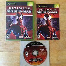 Ultimate Spider-Man Black Label Original Microsoft Xbox System Complete Game