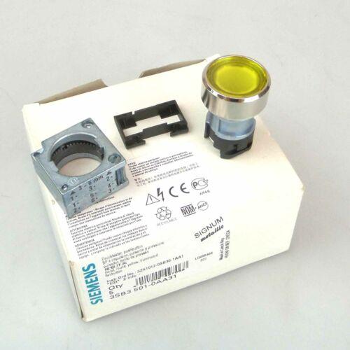 OVP 5stk. Siemens pulsadores 3sb3 501-0aa31