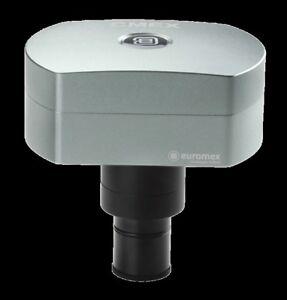 Euromex-DC-18000p-Cmex-Microscopio-Telecamera-Anche-per-Campo-Scuro-Nuovo