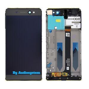 DISPLAY-LCD-TOUCH-SCREEN-FRAME-SONY-XPERIA-XA-ULTRA-F3211-3212-NERO-COVER-VETRO