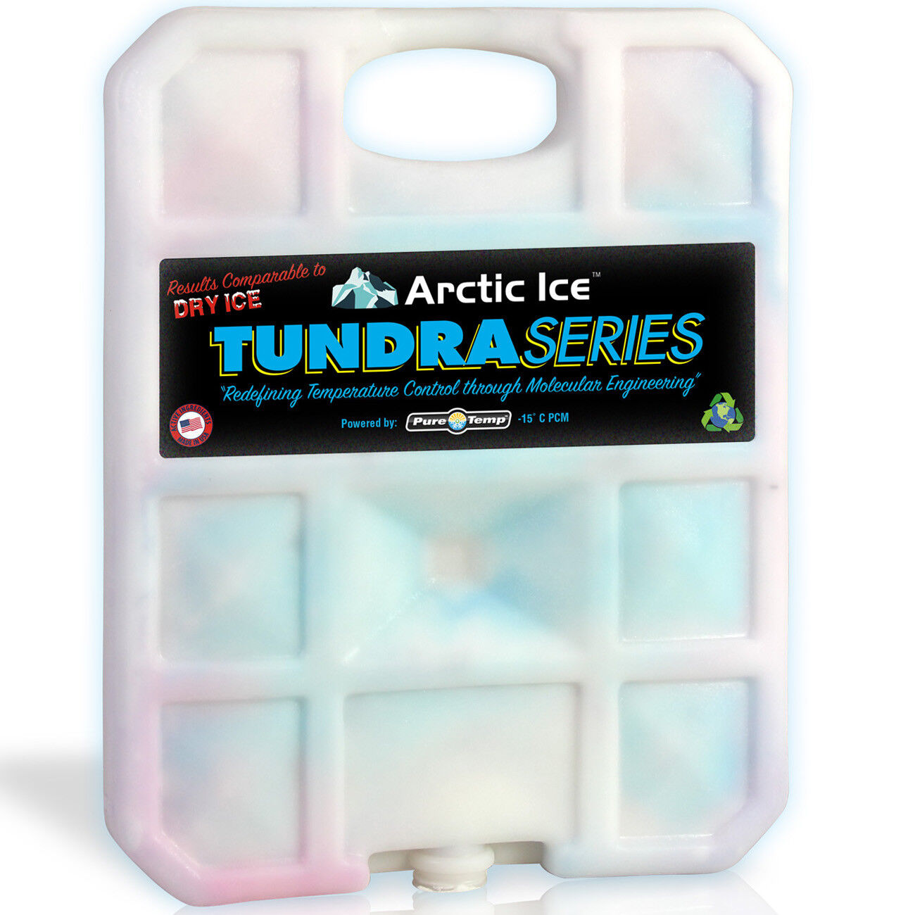 Arctic Ice 83662301207 5lb Tundra Series Reusable Cooler
