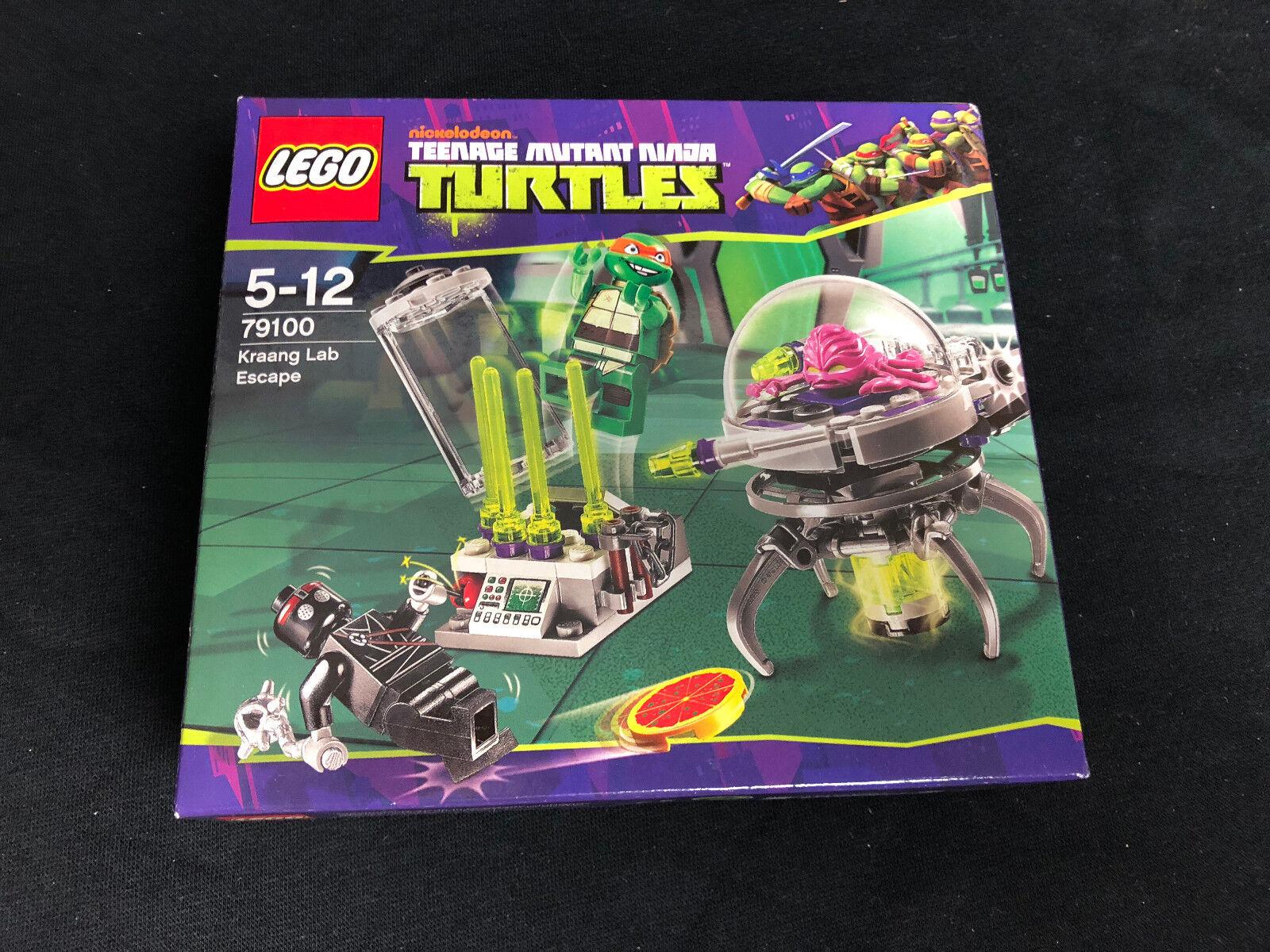 Lego 79100 Ninja Turtles Kraang Lab Escape Kraangs Labor New Neu