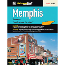 Memphis TN Universal Map Street Atlas