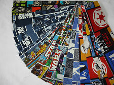 """STAR WARS FABRIC JELLY ROLL 20 X 44"""" VARIOUS PATTERNS"""