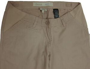 New-Womens-Beige-Chino-NEXT-Maternity-Trousers-Size-10-Regular-8-Long