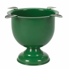 Stinky - 4 Stirrup Tall Deep Dish Cigar Ashtray - Forest Green