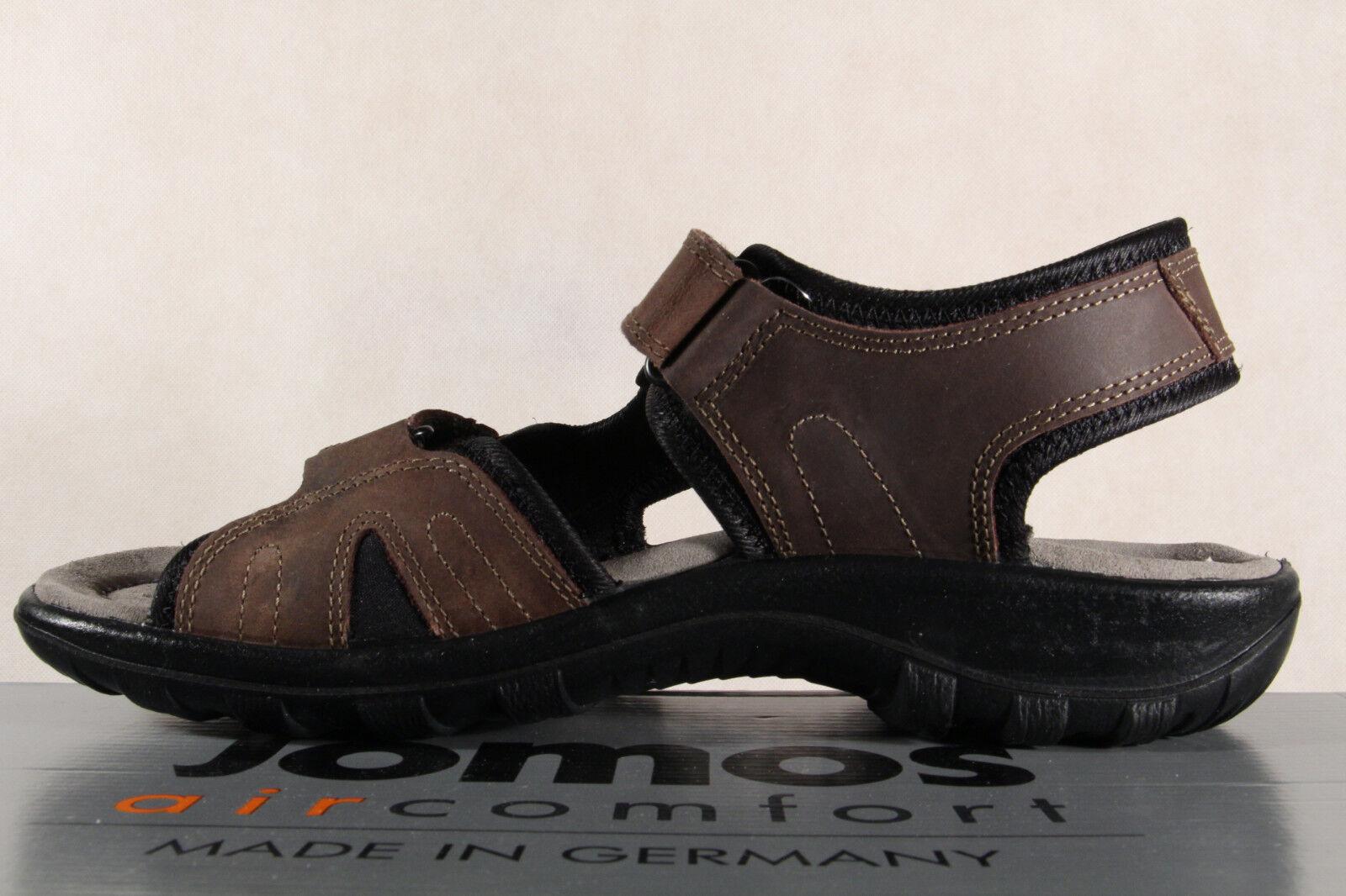 Jomos Herren Sandale Sandalen Sandalette Sandaletten Leder braun 504606  NEU