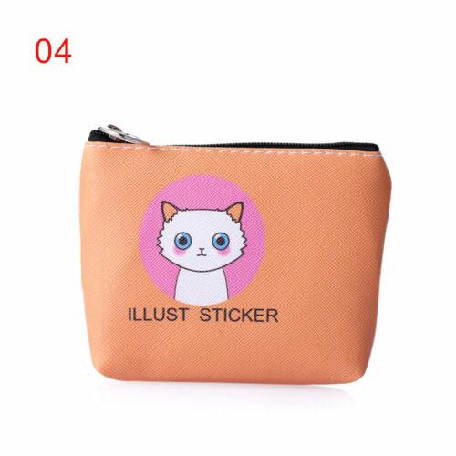 Pouch Storage Bag Mini Wallet Unicorn Coin Purse Women Handbag Earphone Package