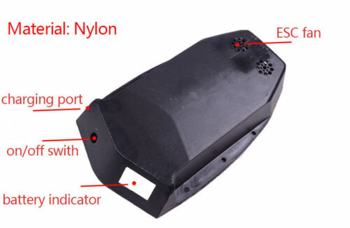 Nylon Battery and ESC case for electric skateboard longboard US