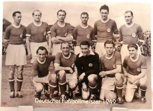 VfR-Mannheim-Deutscher-Fussball-Meister-1949-Fan-Big-Card-Edition-F38