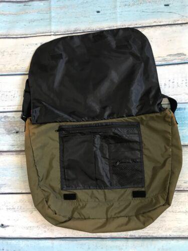 7963972917 HUGO BOSS CROSSBODY Messenger Shoulder Bag Khaki - $45.00 | PicClick