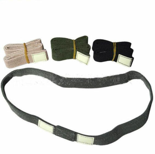 REFLECTIVE CAT EYES CAMO COTTON STRAP HELMET BAND FOR M1 M88 MILITARY HELMET