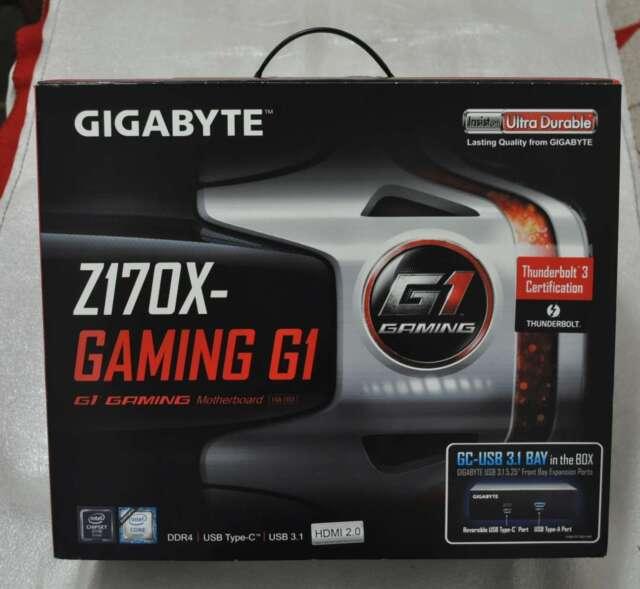 Gigabyte GA-Z170X-Gaming G1 LGA1151 Intel Z170 Ext ATX Motherboard SN16257
