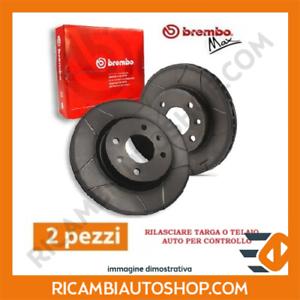 2 DISCHI FRENO BAFFATI ANTERIORE BREMBO VW SCIROCCO 2.0 TSI KW:162 2013/> 09.9772