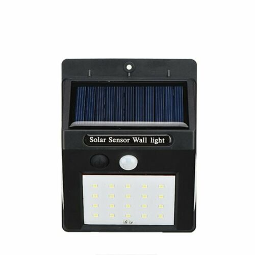 4PCS Solar PIR Motion Sensor 30 LED Security Wall Flood Light Outdoor Lamp IP65