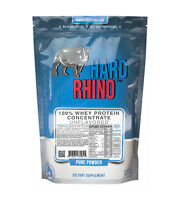 100% Whey Protein Concentrate Powder Hard Rhino Supplements