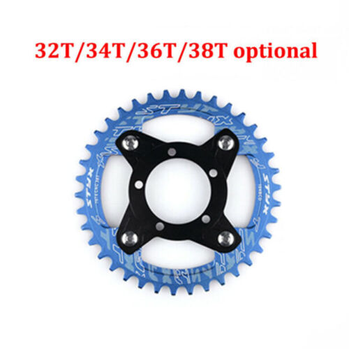 Adapter Chain Ring Road Bike Bicycle For Bafang Motor Bolts 104BCD Durable