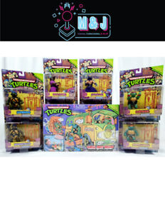 Complete TMNT 2013 Classic Collection Figures + Party Wagon *Rare* (Aus Seller)
