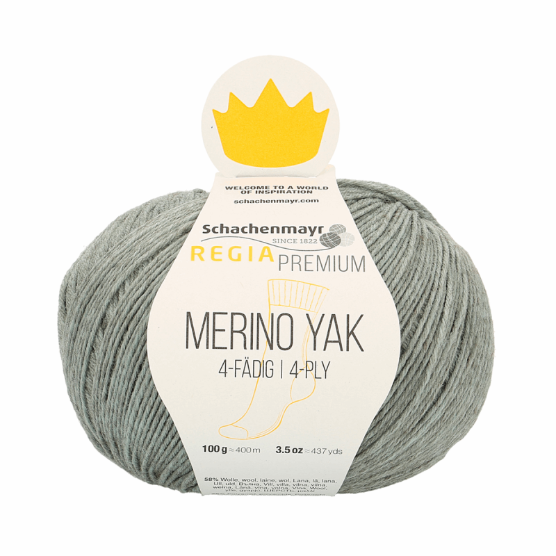 Regia Premium Merino Tejido Crochet Tejer /& Yak Hilo de Lana 100g Bola Craft