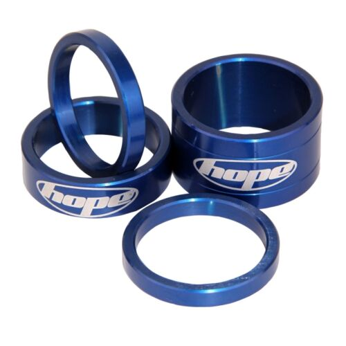 All Colours Brand New Set of 4 Hope Space Doctor Headset Spacers Anodised