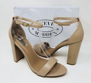 2edc98135be Steve Madden Women s Carrson Ankle-Strap Dress Sandals Size 10 Blush ...