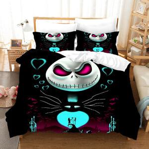 3d The Nightmare Before Christmas Bedding Set Quilt Duvet Doona