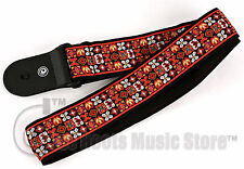Planet Waves SAUGERTIES Style 50mm Guitar Strap | With Pad
