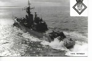 ROYAL NAVY FRIGATE - F107 - H.M.S ROTHESAY.