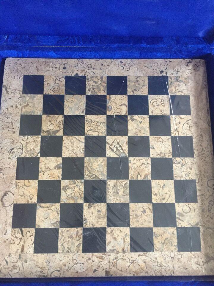 Kendte Skak i marmor, Strategi skakspil, – dba.dk – Køb og Salg af Nyt og NZ-27