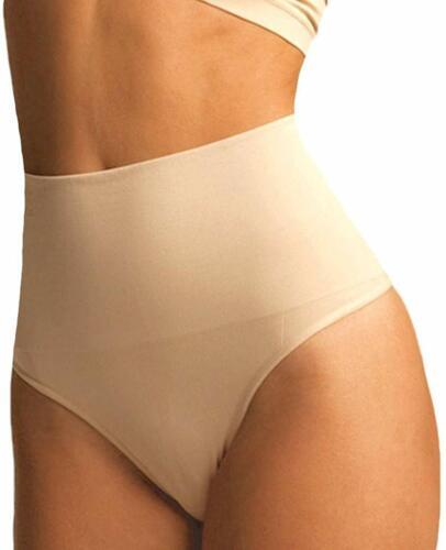 Slim Underwear High-Waist Body Easy Shaper Tummy Control Thong Pants Shapewear