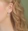 Solido-925-Argento-Sterling-Doppio-CERCHI-Perline-Corda-CERCHIO-Sleeper-Orecchini-Pendenti miniatura 11