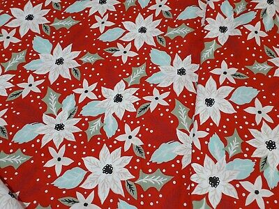 New-100/% Cotton Fabric in a Variety of Christmas Design-Sizes-FQ Half Yard Yard