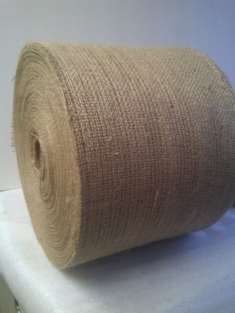 "6"" Wide Burlap Roll, 10oz - 100 Yard Length (300 foot roll)"
