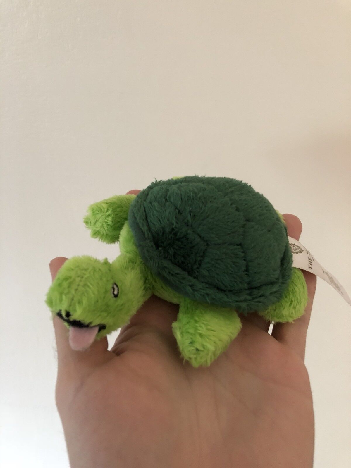 The Plaza Hotel Plush Turtle Stuffed Animal Doll Toy Kids Manhatten New York
