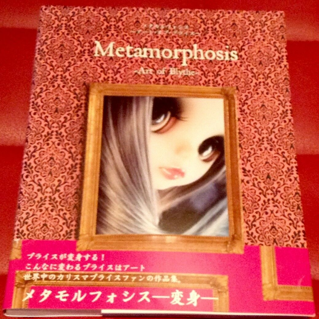 BLYTHE BLYTHE BLYTHE DOLL PHOTO BOOK_ METAMORPHOSIS ART OF BLYTHE  6c4b5d