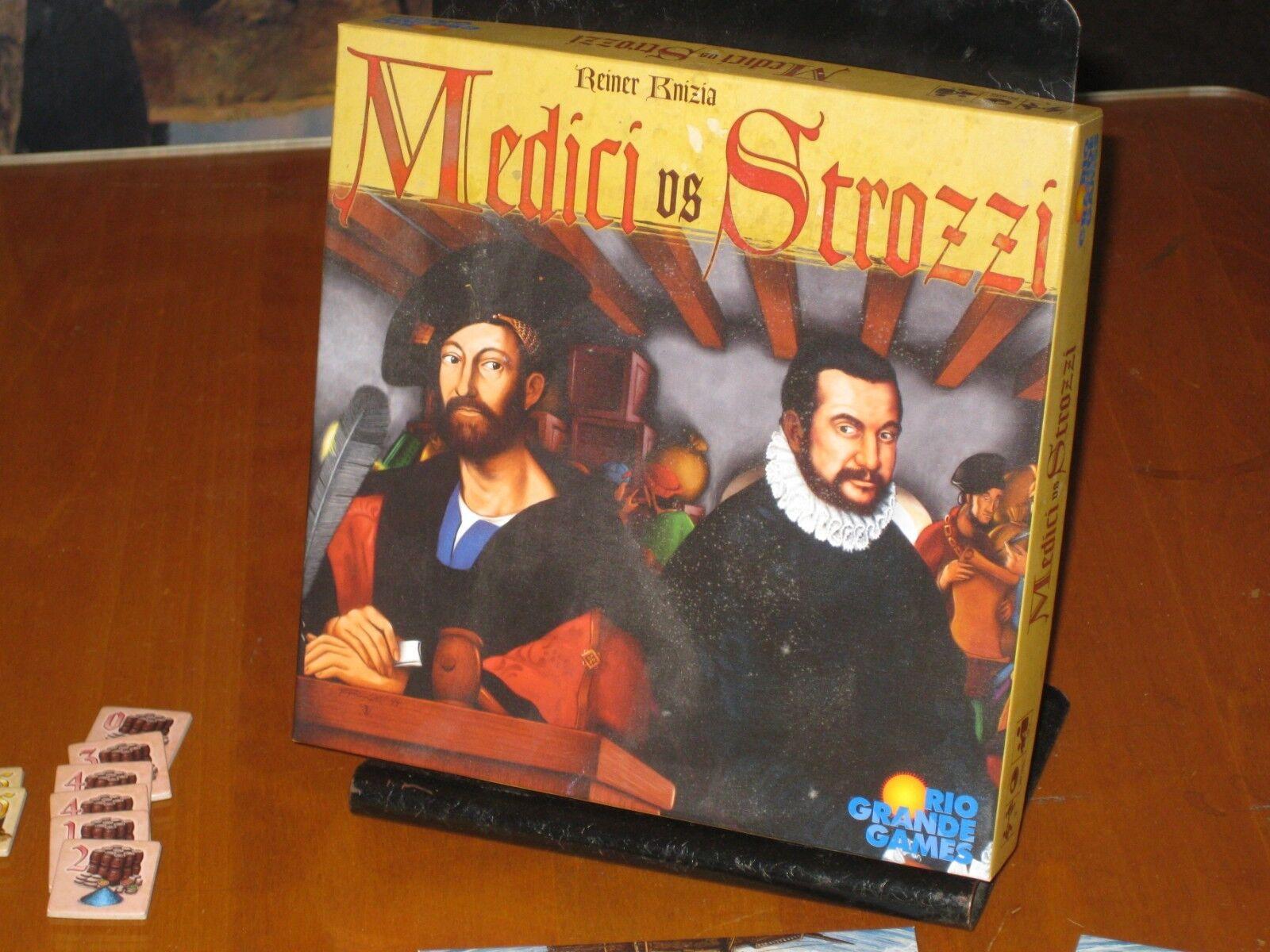 Medici vs strozzi - rio grande 2006 - brettspiel - oop - 100% komplett nm
