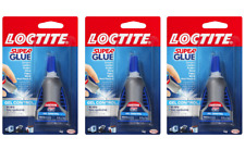 Loctite 234790 Super Glue Gel Control 4 Gram Bottle 3 Pack