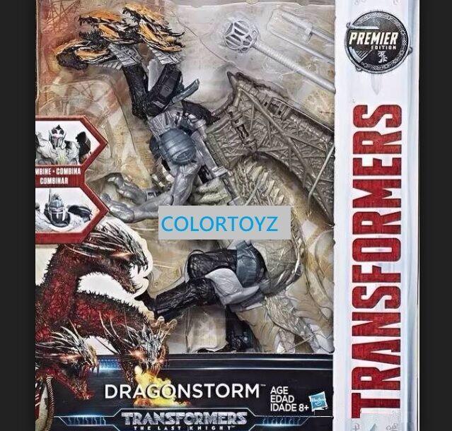 Transformers Last Knight Premier Dragonstorm Optimus Prime Megatron Crosshairs