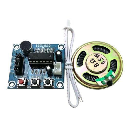Módulo Reproducción Grabación Voz Audio Sonido Con Micrófono ISD1820 Altavoz